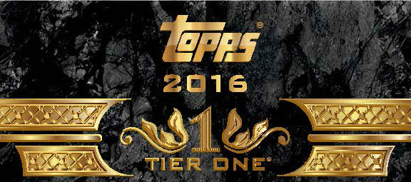 2016 Topps Tier One