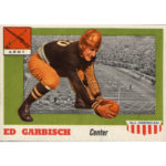 1955 Topps All American Football card 44