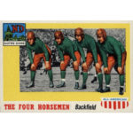 1955 Topps All American Football card 68