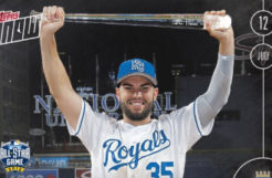 Eric Hosmer Subject of First Topps Now Relic Card