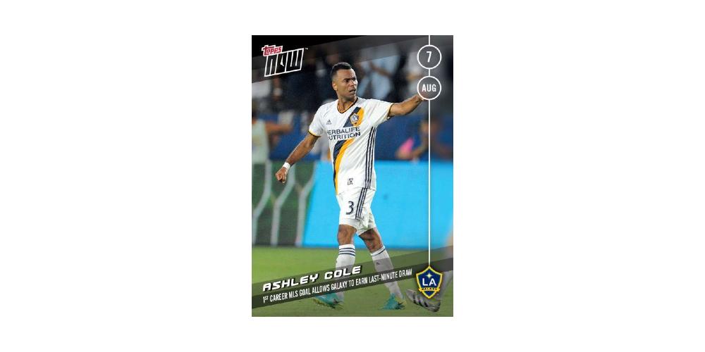 2016 Topps NOW MLS 30 Landon Donovan Scores LA Galaxy Print Run 121