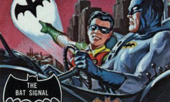 1966 Topps Batman Black Bat