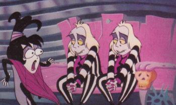 1990 Dart Beetlejuice Trading Cards