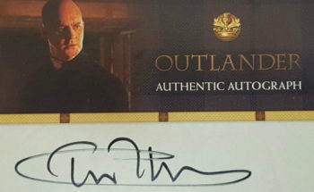 Has a New Outlander Autograph Surfaced?