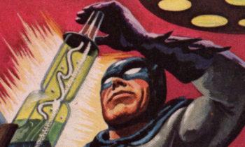 1966 Topps Batman Red Bat