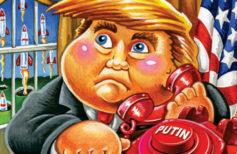 2017 Topps Garbage Pail Kids Trumpocracy