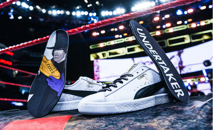 WWE: Sneaker collab with Puma, Foot