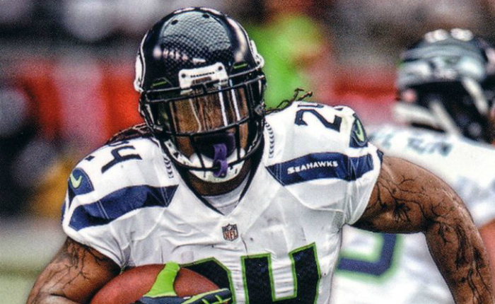 3ff60a34b221 The team is moving in a few years and one positive light coming from The  Town — Marshawn Lynch — hasn t come ...