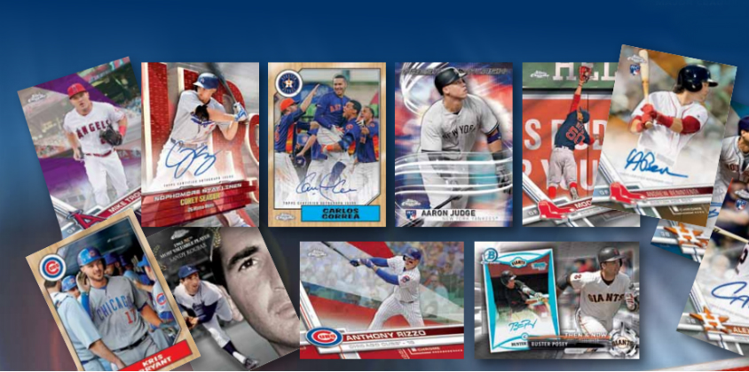 2017 Topps Chrome Baseball Card Checklist And Product Info