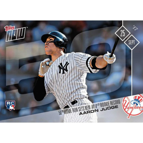2017 Topps Now Baseball Card News And Checklist