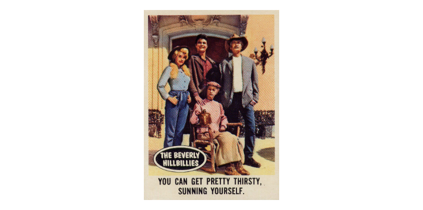 1963 Topps Beverly Hillbillies Trading Card Hub and Checklist