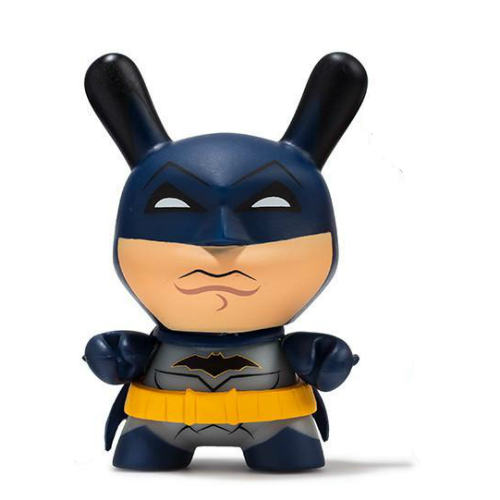 """Kidrobot DC Comics Batman Classic /& Dark Knight 5/"""" Dunny 2pcs Set"""