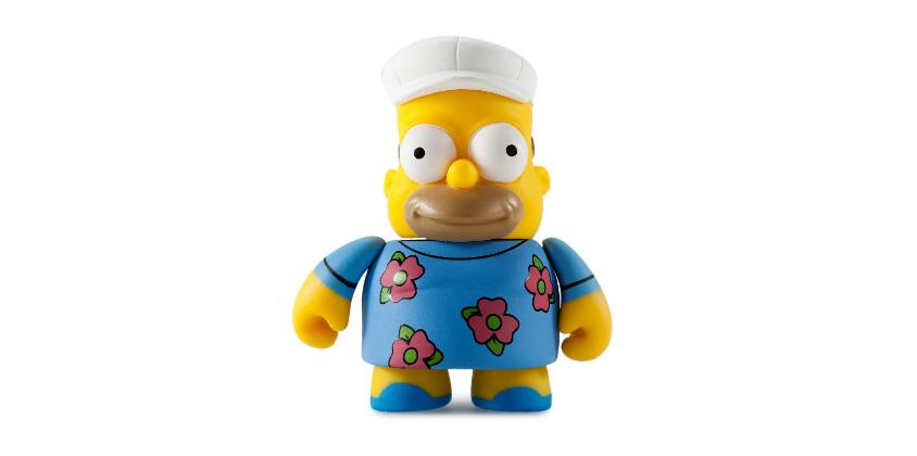 Barney The Simpsons 25th Anniversary 3-Inch Kidrobot Vinyl Mini Figure