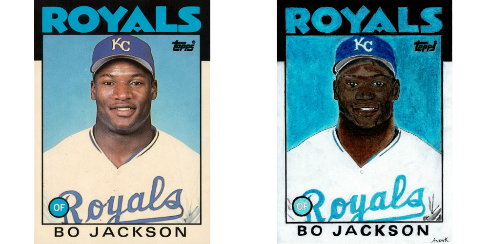 Recreating Classic Baseball Cards With The Founder Of High Heat Stats