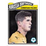Topps UCL Living Set 6 Christian Pulisic Borussia Dortmund