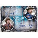 2019 Topps Stranger Things Welcome to the Upside Down Dual Auto