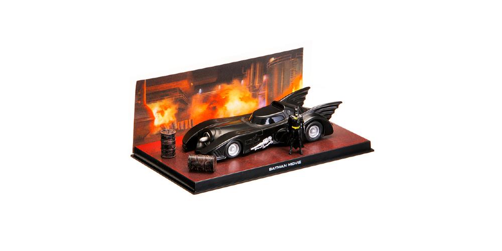 BATMOBILE EAGLEMOSS Batman Automobilia Collection Batman The Return #1