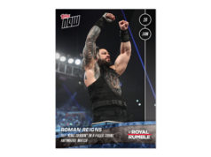 2020 Topps Now WWE trading card checklist